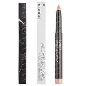Korres Eyeshadow Twist Black Volcanic Minerals 11 Ivory 1 St