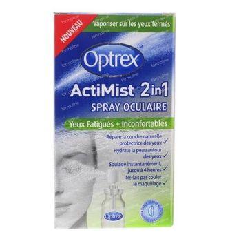Optrex ActiMist 2-en-1 Spray Oculaire Fatigués et Inconfortables 10 ml
