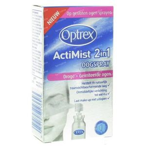 Optrex ActiMist™ 2in1 Eye Spray for Dry + Irritated eyes 10 ml spray
