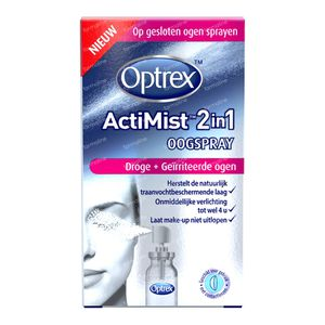 Optrex ActiMist 2-In-1 Droge + Geïrriteerde Ogen 10 ml spray