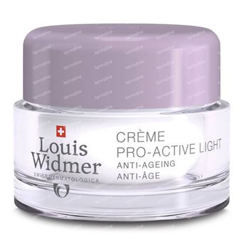 Louis Widmer Pro-Active Cream Light Légèrement Parfumé 50 ml