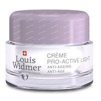 Louis Widmer Pro-Active Light Parfum Nachtcrème 50 ml