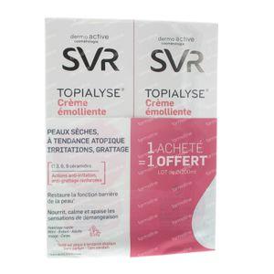 SVR Topialyse Crème Apaisante Duo 1 Gratuit 400 ml