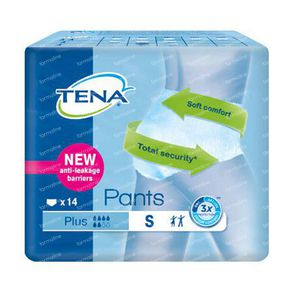 Tena Pants Plus Small 792414 14 pieces