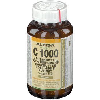 Altisa Vitamine C 1000mg + Rose Musquée Timed Release 90 comprimés