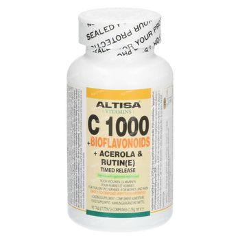 Altisa Vitamine C 1000mg + Bioflavonoïds Timed Release 90 comprimés