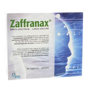 Zaffranax 45 capsules