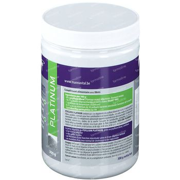Mannavital Psyllium Platinum Poeder 300 g poeder