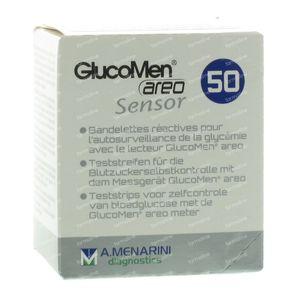 GlucoMen Aero Sensor 46191 50 Unidades