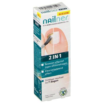 Nailner Brush 2 in 1 5 ml