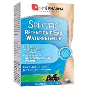 Forté Pharma Specific Waterretentie Duopack 56 tabletten