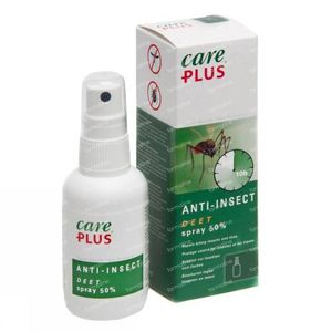 Care Plus Anti-Insect Spray 50% DEET 60 ml