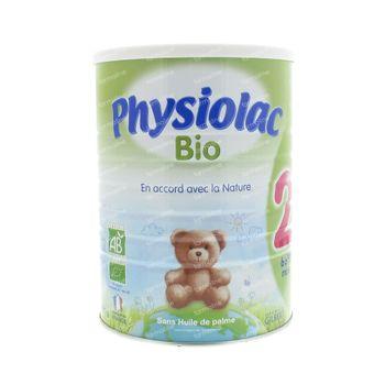 Physiolac Bio 2 900 g poudre