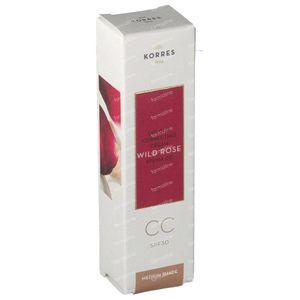 Korres Wild Rose CC Creme Medium SPF30 30 ml