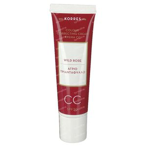 Korres Wild Rose CC Creme Medium SPF30 30 ml