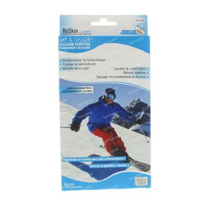 Reskin Ski & Skate Pleister 10x18cm 2 stuks
