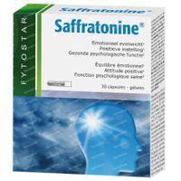 Fytostar Fytostar Saffratonine – Positieve Instelling – Voedingssupplement bij Stress of Negatieve Gevoelens 30  capsules
