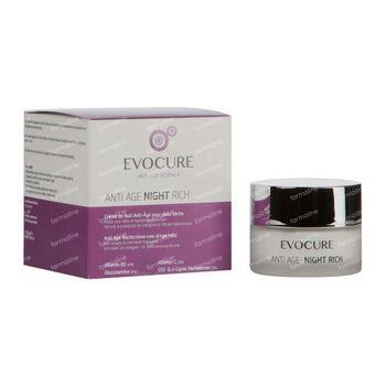 Evocure Anti Age Cream De Nuit Riche 50 ml