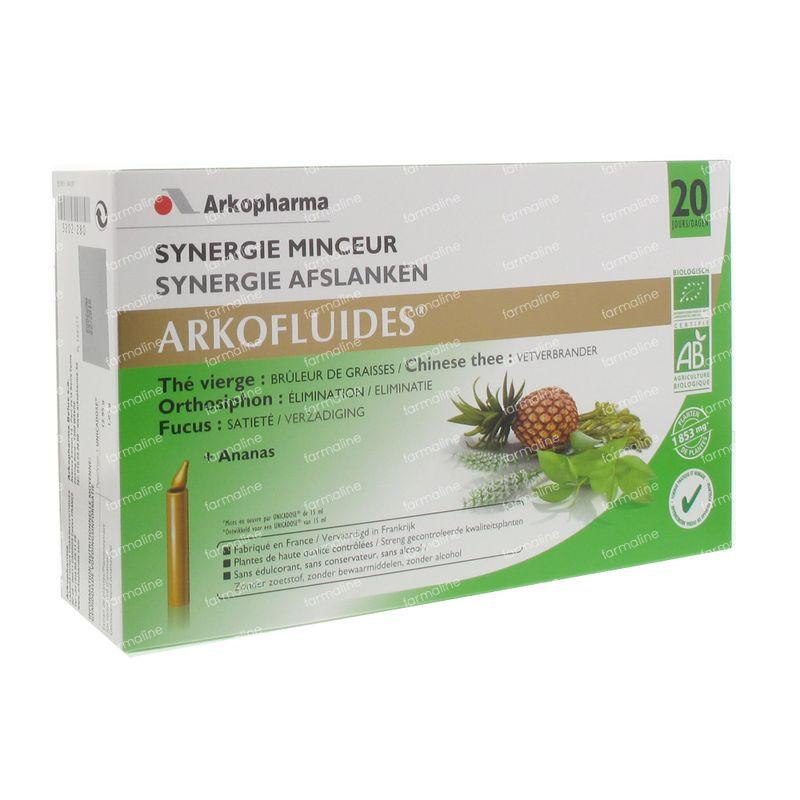 Arkofluide Synergie Minceur 20 St unidosis - Vente en ligne!