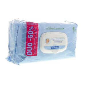 Klorane Baby Duo Cleaning Wipes Biodegradable 140 St