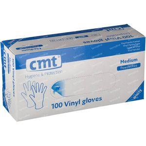 Gant CMT Vinyl BlancTransparant Sans Poudre mm 100 pièces