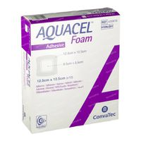 Aquacel Foam Adh 12,5x12,5cm 420804 10 st