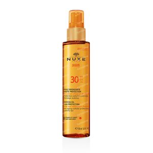 Nuxe Sun SPF30 Bruiningsolie Lichaam & Gelaat 150 ml