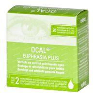 Ocal Euphrasia Plus 20x0,4 ml unidosis