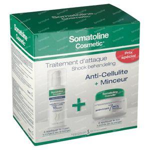 Somatoline Cosmetic Night 7 + Advanced Cellulitis Duo 1 pieza
