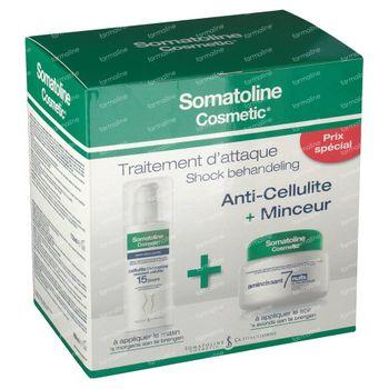 Somatoline Cosmetic Nuit 7 + Cellulite Incrustée Duo 1 st