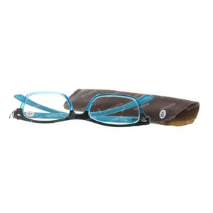 Pharma Glasses Reading Glasses Blue +4 1 pieza