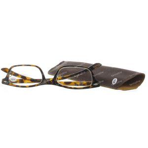 Pharma Glasses Lunettes Pour Lire Brune +4 1 pièce