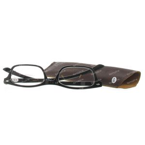 Pharma Glasses Reading Glasses Black +4 1 St