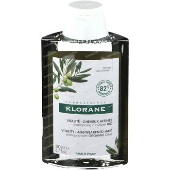 Klorane Shampooing A L'Extrait Essentiel D'Olivier 200 ml