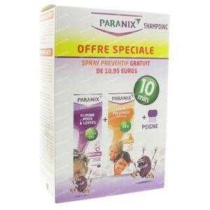 Paranix Duo Shampoing + Prevent Shampoing 1 set