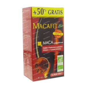 Macafit Bio + 45 Tabletten GRATIS 90+45  Tabletten