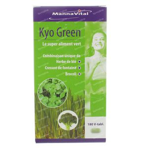 Mannavital Kyo Green 180 St tabletten