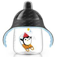 Avent Drinkbeker Anti-Lek Pinguin Zwart 12Maanden+ SCF753/03 260 ml