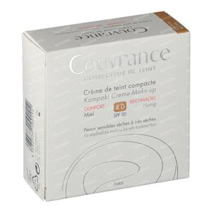 Avène Couvrance Getinte Compact Creme Comfort 04 Miel 10 g