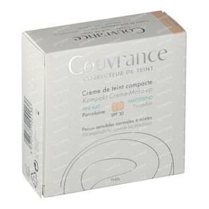 Avène Couvrance Compact Foundation Cream Oil-Free 01 Porcelaine 10 g