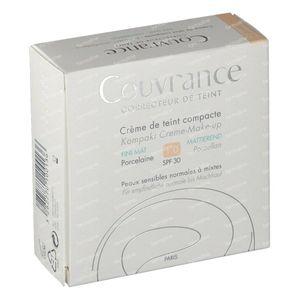 Avène Couvrance Crème de Teint Compact Sans Huile 01 Porcelaine 10 g