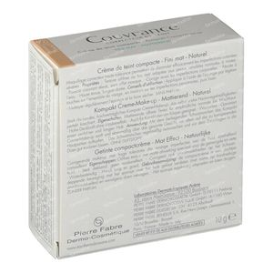 Avène Couvrance Compact Foundation Cream Oil-Free 02 Naturel 10 g