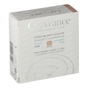 Avène Couvrance Compact Foundation Cream Oil-Free 03 Sable 10 g