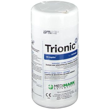 Medtradex Trionic Wipes 125* 3 pièces