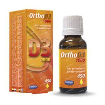 Ortho D3 1000IU 20 ml