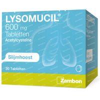 Lysomucil 600mg 30  tabletten