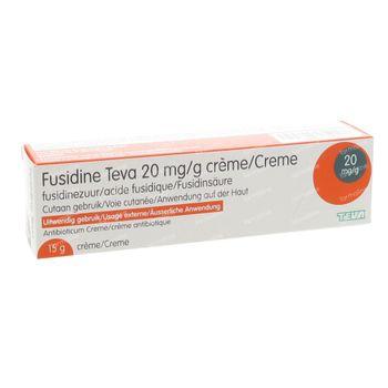 Fusidine Teva 15 g crème