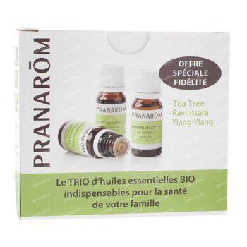 Pranarom Triopack Bio 3 EO 11911 3 pièces