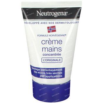 Neutrogena Nouvelle Formule Concentrée Hydratante Crème Mains 50 ml