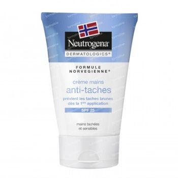 Neutrogena Crème Mains Anti-Taches Brunes Unificateur SPF25 50 ml crème